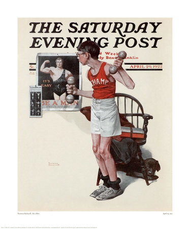 8th_grade_be_a_man_by_norman_rockwell_in_1922