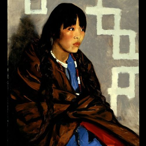 8th_grade_indian_girl_by_robert_henri_of_the_ashcan_school